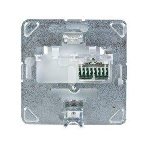 TON Gniazdo komputerowe pojedyncze RJ45 kat.5e R&M bez ramki biały GPK-1C/R/m/00