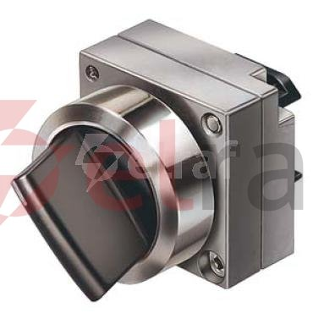 Napęd przełącznika 2 położeniowy czarny bez samopowrotu 3SB3500-2HA11