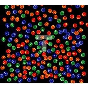 Komplet choinkowy wnętrzowy LED 100L w okręgu 5cm multikolor 4,95m 20-031