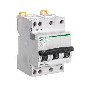 Wyłącznik nadprądowy 3P+N C 16A AC iDPN N A9N21597