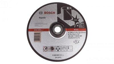 Tarcza tnąca prosta do stali Inox Rapido Standard AS 46 T INOX BF 230x1,9x22,23mm 2608600711 /2szt./