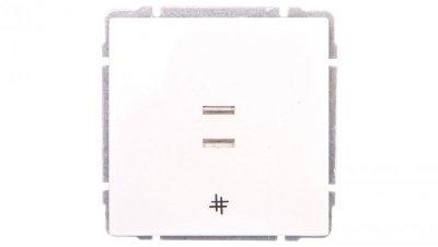 KOS66 Łącznik krzyżowy podświetlany biały 620417
