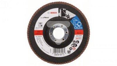 Tarcza szlifierska listkowa Best for Metal 125x60 prosta 2608607327
