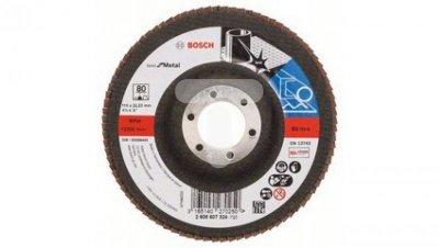 Tarcza szlifierska listkowa Best for Metal 115x80 prosta 2608607324