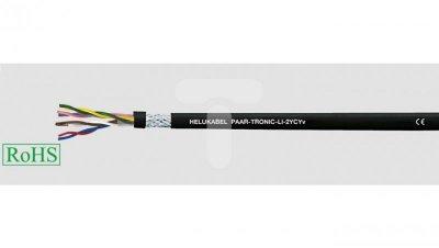 Przewód sterowniczy PAAR-TRONIC-LI-2YCYv 2x2x0,5 /RS422 RS485/ 21141 /bębnowy/