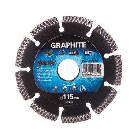 Tarcza diamentowa 115x22,2 mm segmentowa spawana laserowo segment 8x2.2 mm 57H865