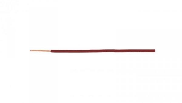 Przewód instalacyjny H07V-U (DY) 1,5 czerwony /100m/