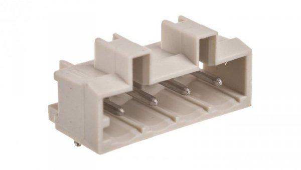 Wtyk MCS-MIDI Classic 4-biegunowy jasnoszary raster 5mm 721-434/001-000