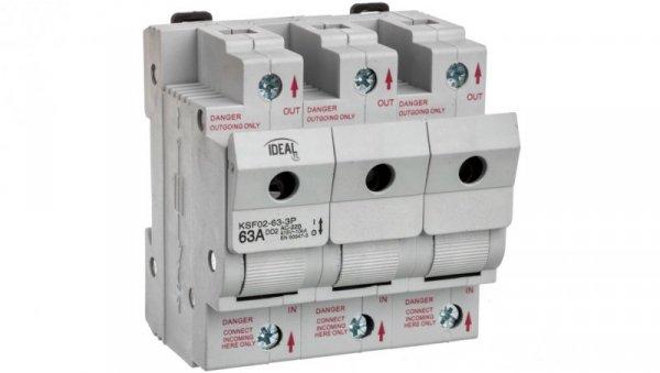 Rozłącznik bezpiecznikowy 63A KSF02-63-3P 23343
