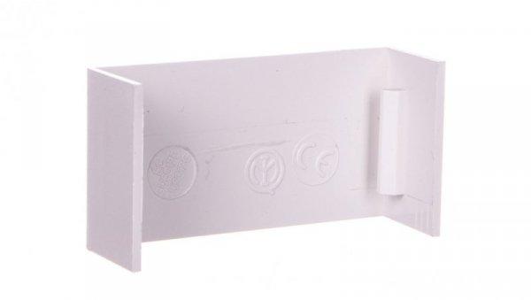 Łącznik prosty do kanałów kablowych GU 60x17 biały /2szt/ ECGU6017B