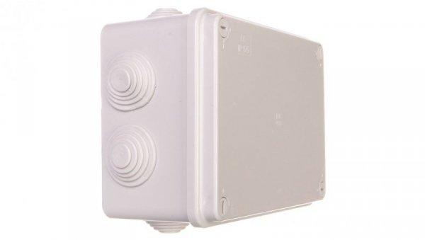 Puszka natynkowa z zaciskami seria 405 155x110x70 szary EC405C5