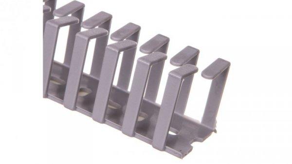 Korytko grzebieniowe elastyczne naklejane 30x30x500 szare /0.5m/ EC23415