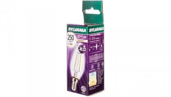 Żarówka LED E14 Filament 2W 250lm ToLEDo RT Candle SL 0027180