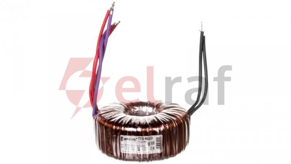 Transformator toroidalny TTS 450/D 230/24-24V 450VA 17124-8995
