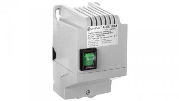 Regulatorprędkościobrotowej1-fazowyAREX 10,0 105-230V10A/sterowaniezdalne 0-10V DC/ 17886-9947