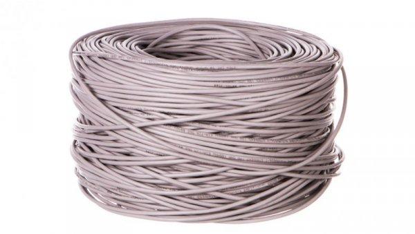 Kabel teleinformatyczny U/UTP kat.5e 4x2xAWG26/7 CCA 68707 /305m/