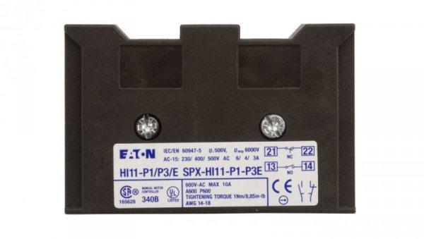 Styk pomocniczy 1Z 1R montaż boczny HI11-P1/P3E 061813