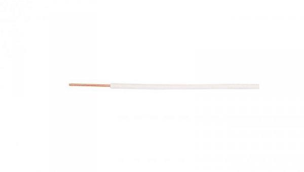Przewód instalacyjny H07V-U (DY) 1 biały /100m/