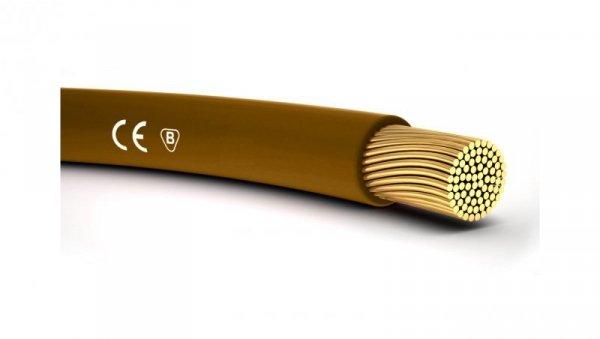 Przewód instalacyjny H05V-K 1 brązowy 4510033 /100m/