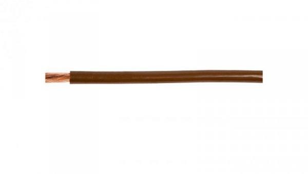 Przewód instalacyjny H05V-K (LgY) 0,5 brązowy /100m/