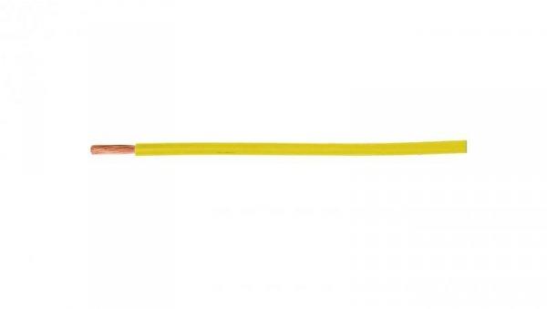 Przewód instalacyjny H05V-K (LgY) 0,5 żółty /100m/
