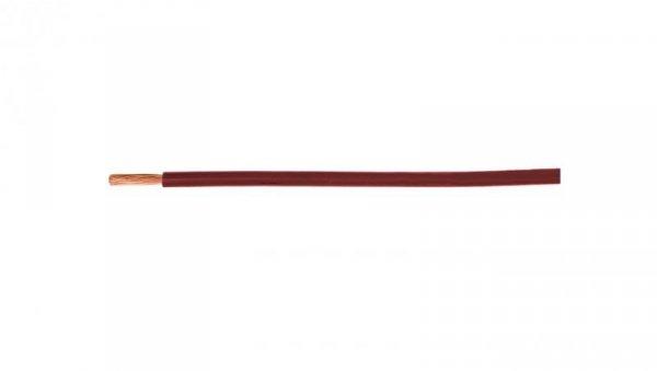 Przewód instalacyjny H07V-K (LgY) 1 czerwony /100m/