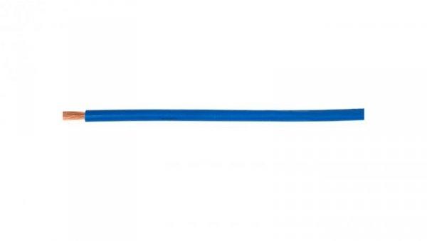 Przewód instalacyjny H07V-K (LgY) 4 niebieski /100m/