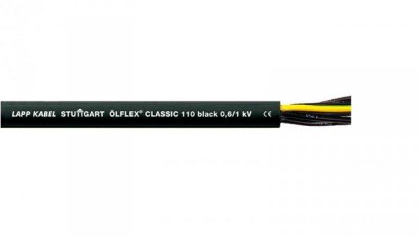 Przewód sterowniczy OLFLEX CLASSIC 110 Black 0,6/1kV 5G0,75 1120237 /bębnowy/