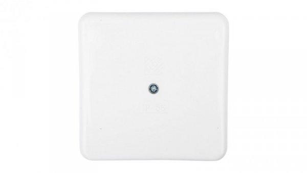 Puszka n/t hermetyczna pusta 75x75mm IP56 biała PON568080BZL