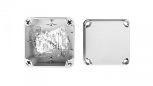 Puszka natynkowa LIGHT 108x108x64 7xM25 gładka IP66/67 EL-111