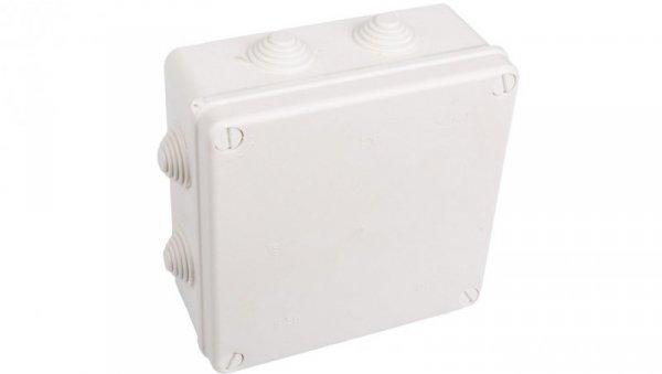 Puszka n/t hermetyczna pusta 167x167x75mm IP55 biała PK-7 0238-01