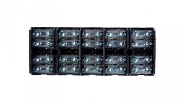 Płytka odgałęźna ZPT/35mm2/5-torów czarna ZPT 5-35.0 83010007