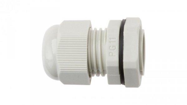 Dławnica kablowa poliamidowa PG11 IP68 DP 11/H szara E03DK-01030100301