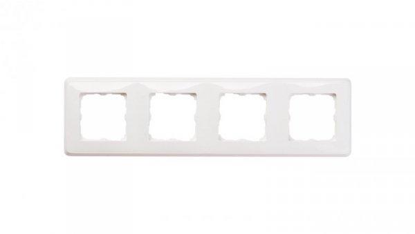 CARIVA Ramka poczwórna uniwersalna biała 773654