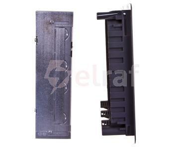 Kompletna kaseta z puszkami 12xM45, PA stalowo-szary RAL 7011 UD GES9-2 7011 7427470