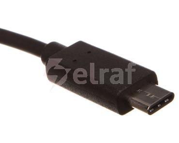 Przewód adapter USB 2.0 HighSpeed USB-C - microUSB 0,2m 67895