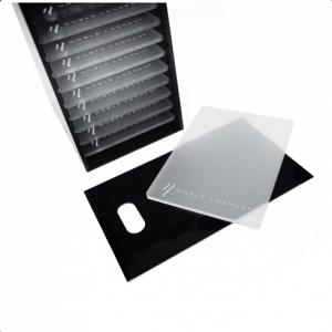 Transparentny Lash Pad do czarnego Lash Boxa