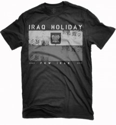 FLAGA IRAQ HOLIDAY