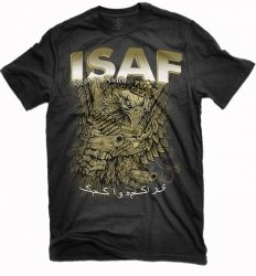 FIRST TO FIGHT ISAF
