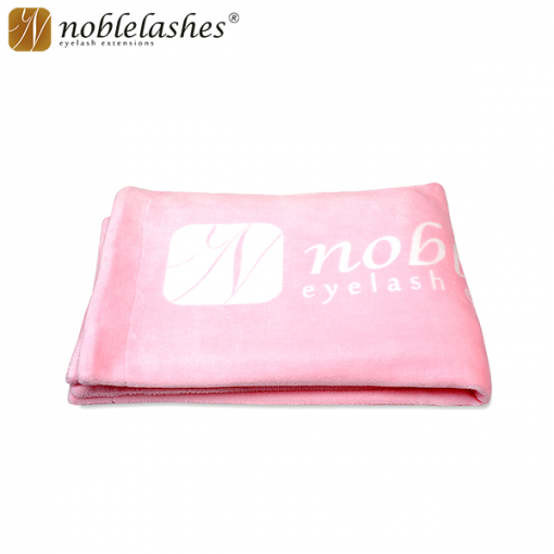 Blankets with the Noble Lashes logo