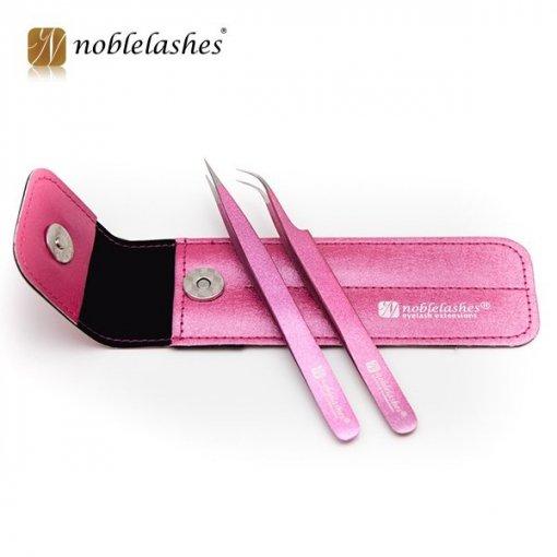 Handy case for two tweezers