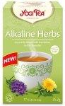 Herbata Alkaliczne Zioła Bio (17x2,1g) - Yogi Tea