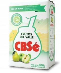 Yerba mate CBSe Frutos Del Valle 500g GRUSZKOWA