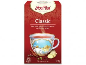Herbata Klasyczna Bio 17x2,2g Yogi Tea