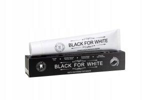 Pasta do zębów wybielająca Black for White 75ml