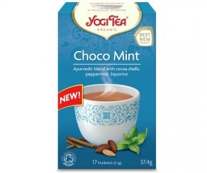 Herbata Czekoladowo miętowa Bio 17 x 2,2g Yogi Tea
