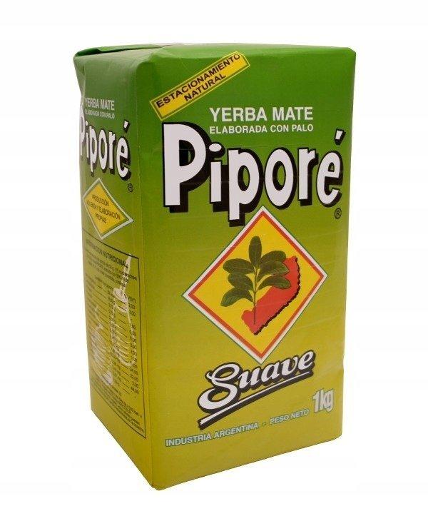 Yerba Mate Pipore Suave - 1kg Łagodny klasyk