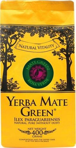 Yerba Mate Green Rosa Verde Róża + Jaśmin 50g
