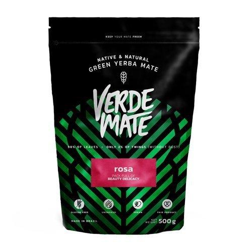 Yerba Verde Mate Green Rosa Różana 500g Bez dymu!