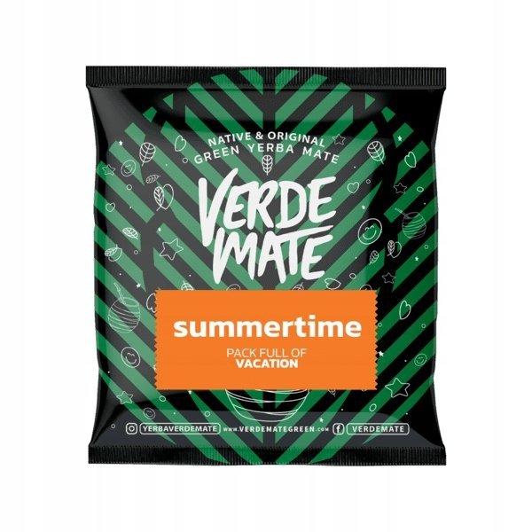 Yerba Verde Mate Green Summertime 50g Mandarynkowa
